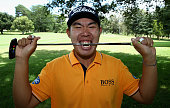 Byeong Hun An of Korea poses for a picture ahead of the Joburg Open at Royal Johannesburg and Kensington Golf Club on February 25 2015 in...