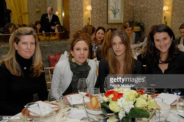 Byrdie Bell and attend MARIA HATZISTEFANIS presents GLAMOTOX at a glamorous upper east side luncheon at The Carlyle on December 3 2007 in New York...
