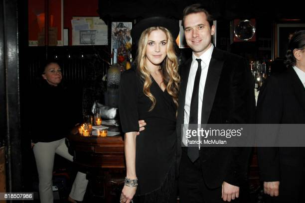 Byrdie Bell Christopher Bollen attend INTERVIEW celebrates Patrick McMullan's 20th Anniversary at Elaine's on February 10 2009 in New York City