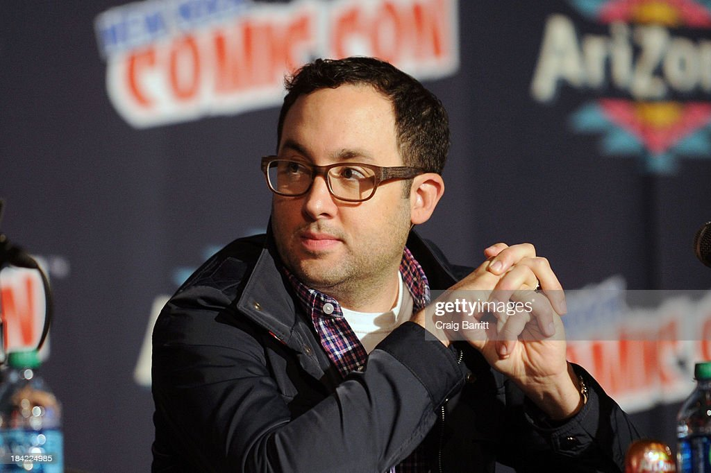 PJ Byrne attends the Korra panel at the 2013 New York Comic Con at Javits Ceter on October 12, 2013 in New York City.