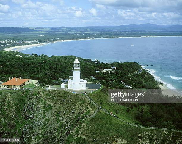 byron bay lighthouse, nsw (aerial)