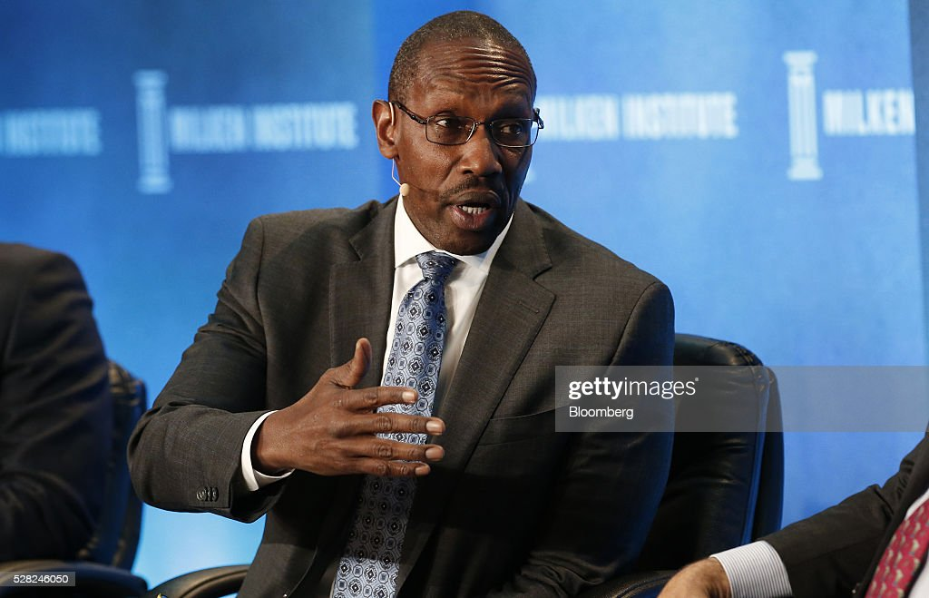 Byron Boston, chief executive officer and co-chief investment officer of Dynex Capital Inc., speaks during the annual Milken Institute Global Conference in Beverly Hills , California, U.S., on Wednesday, May 4, 2016. The conference gathers attendees to explore solutions to today's most pressing challenges in financial markets, industry sectors, health, government and education. Photographer: Patrick T. Fallon/Bloomberg via Getty Images