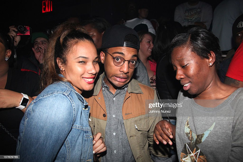 Byron Edwards (c) attends Santos Party House on December 4, 2012 in New York City.