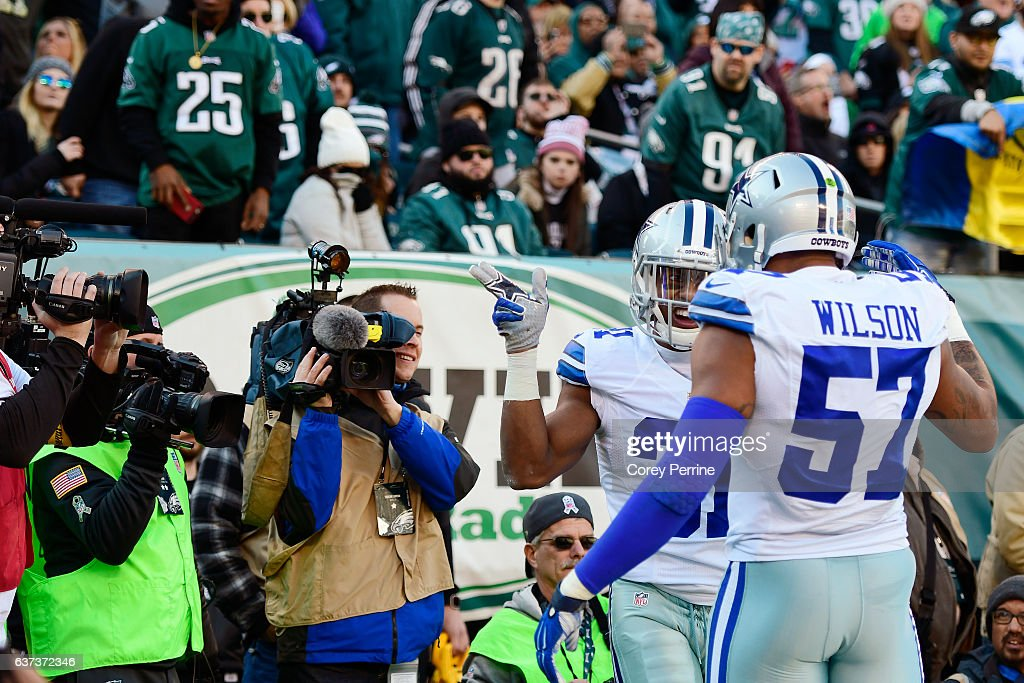 cowboys break up eagles celebration