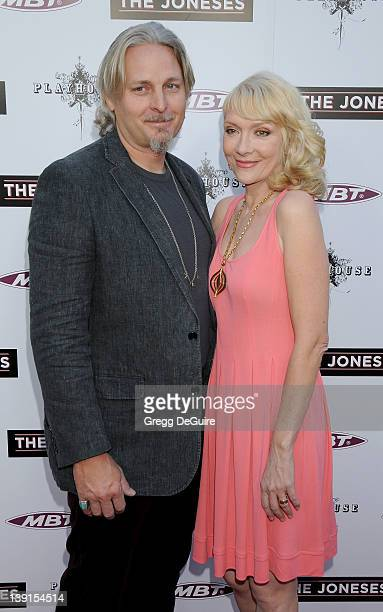 Byron McCulloch and Glenne Headly arrive at 'The Joneses' Los Angeles Premiere at the Arclight Hollywood on April 8 2010 in Hollywood California