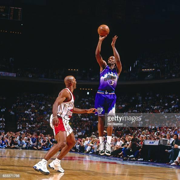 Houston Rockets Vs Utah Jazz: Byron Dorgan Stock Photos And Pictures