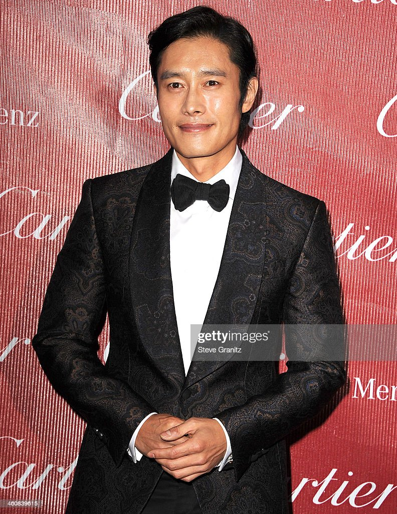 Byung Hun Lee arrives at the 25th Annual Palm Springs International Film Festival Awards Gala at Palm Springs Convention Center on January 4, 2014 in Palm Springs, California.