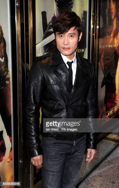 Byung HunLee arrives for the UK premiere of GI Joe Retaliation at the Empire Cinema in London
