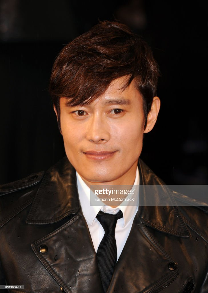 Byung Hun-Lee attends the UK premiere of 'G.I. Joe: Retaliation' at Empire Leicester Square on March 18, 2013 in London, England.