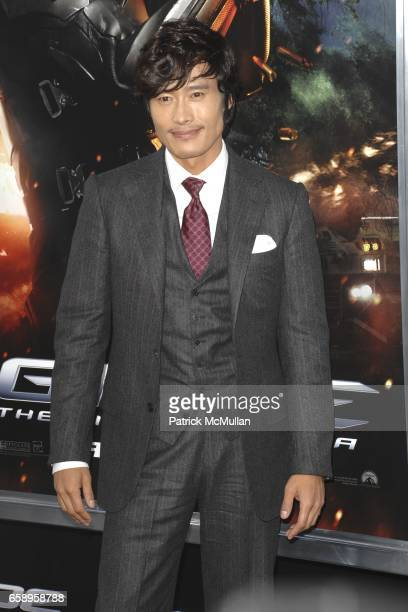 Byunghun Lee attends 'GI JOE THE RISE OF COBRA' Premiere at Grauman's Chinese Theater on August 6 2009 in Los Angeles California