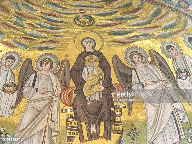 Byzantine mosaic, Basilica of Euphrasius, Porec