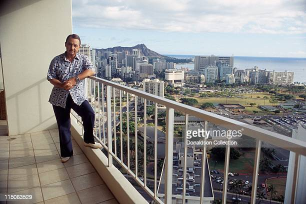 Actor John Hillerman poses for a portrait in c1982 in Honolulu Hawaii