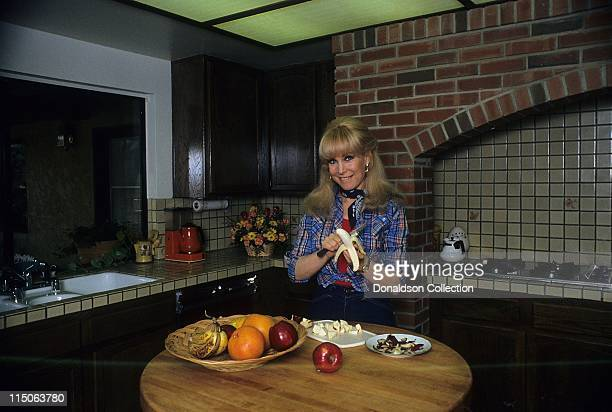 Actress Barbara Eden poses for a portrait c1985 in Los Angeles California