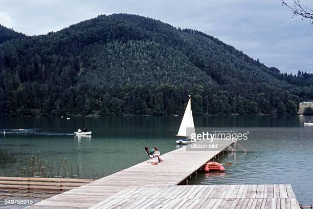AUSTRIA ca 1960 Klopeiner See