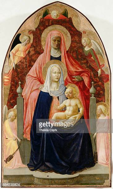 1420 ca / tempera on wood 175 x 103 cm / Uffizi Gallery Florence