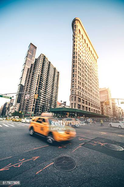 Taxi la circulation dans la ville de New York