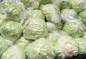 Cabbage - vegetable  - @ retail store