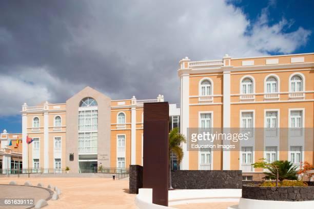 Cabildo De Lanzarote Arrecife Town Lanzarote Canary Spain