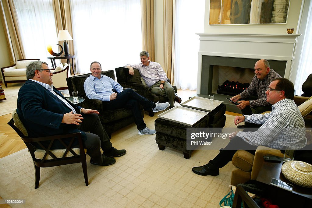 Cabinet Minister Gerry Brownlee Newly elected Prime Minister John Key Deputy Prime Minister Bill English Cabinet Minister Steven Joyce and Cabinet...