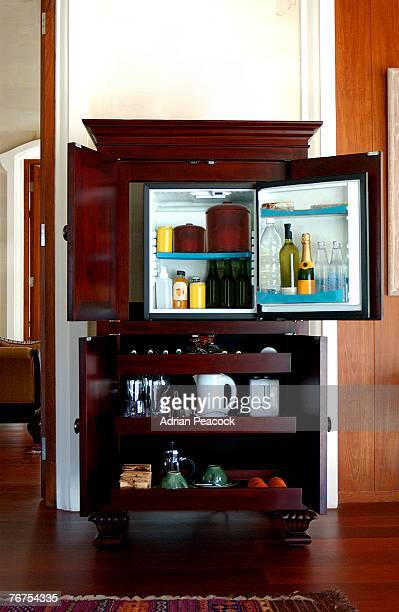 Cabinet with minibar