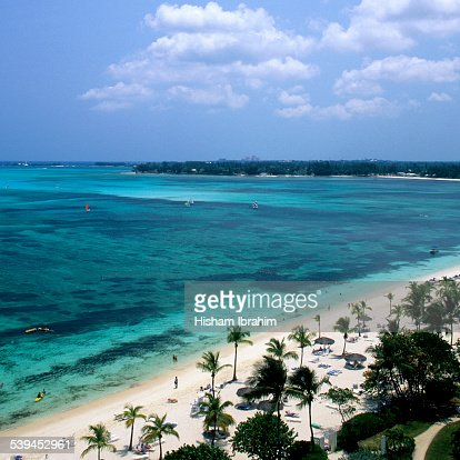 Cable beach, Nassau, Bahamas