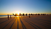 Cable Beach - The famous camel ride