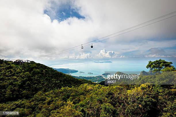 cable car over langkawi island