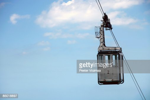 cable car. : Stock Photo