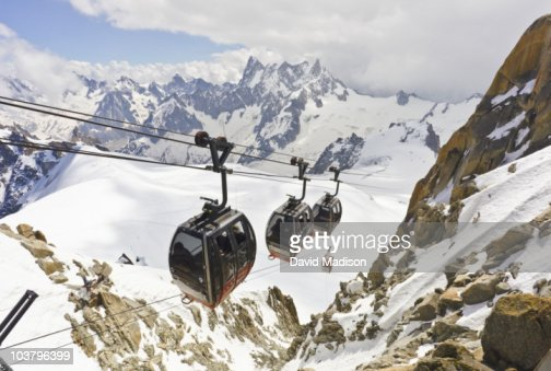 Cable Car to Pointe Helbronner.