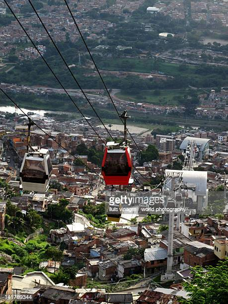 Cable cars in Medellín