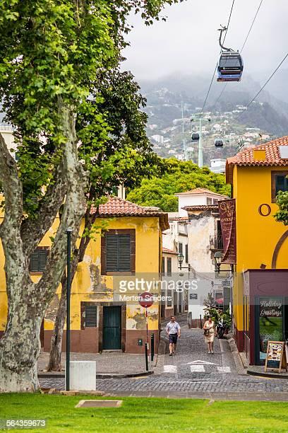 Cablecar to Monte above Rua Dom Carlos I