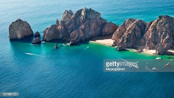 Cabo San Lucas and Land's End Aerial View