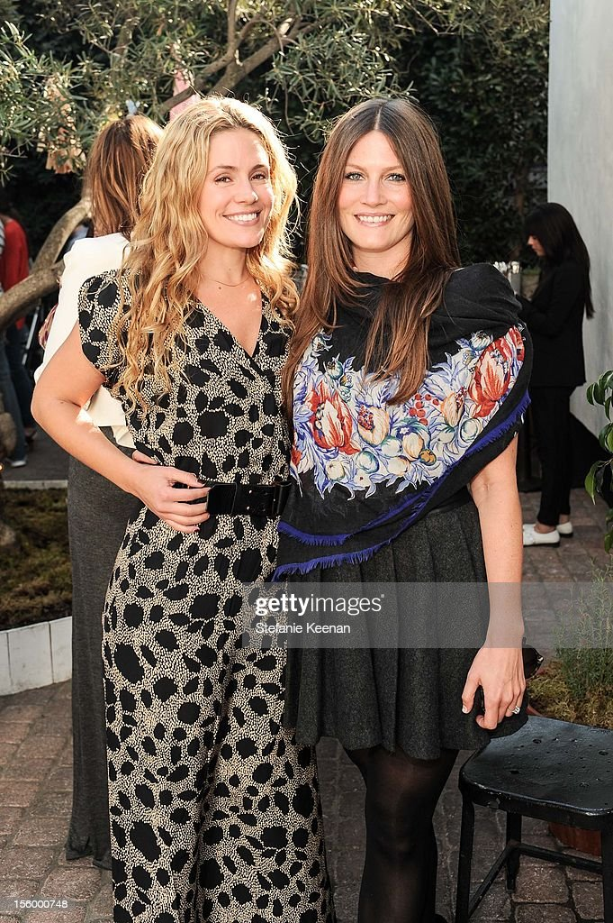 Cacee Cobb and Kathryn Sykora attend ShoeMint Celebrates 1 Year Anniversary With Rachel Bilson And Nicole Chavez at Laurel Hardware on November 10, 2012 in West Hollywood, California.