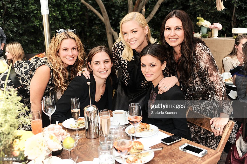 Cacee Cobb, Ilaria Urbinati, Jaime King, Rachel Bilson and Nicole Chavez attend ShoeMint Celebrates 1 Year Anniversary With Rachel Bilson And Nicole Chavez at Laurel Hardware on November 10, 2012 in West Hollywood, California.