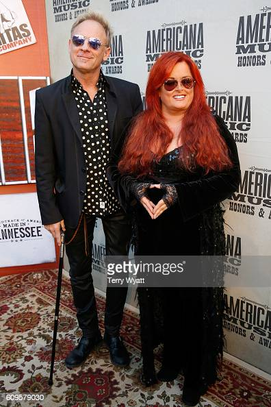Cactus Moser and Wynonna Judd attend the Americana Honors Awards 2016 at Ryman Auditorium on September 21 2016 in Nashville Tennessee
