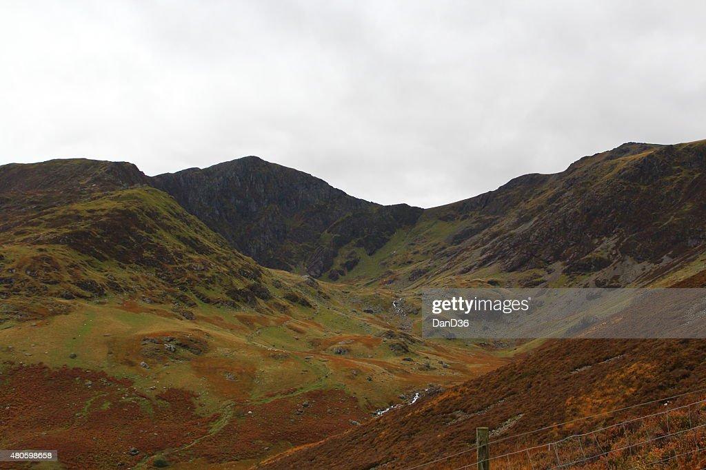Cadair Idris Landscape - Wales - UK : Stock Photo