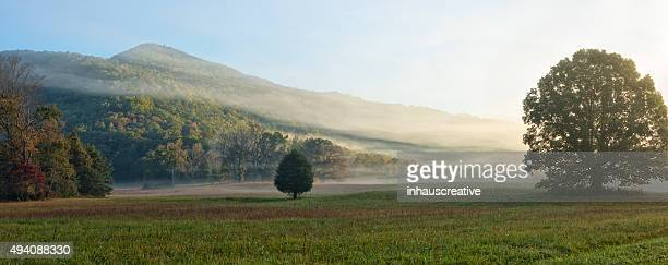Cades Cove in the morning Oct 2015