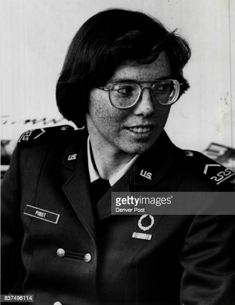Cadet Terry Pobst '81 of Albuquerque N Mex Pobst was in fine regular Air Force before entering the academy Credit Denver Post Inc