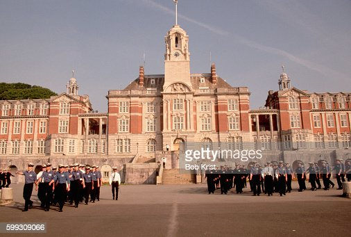 Cadets Parade at Naval College