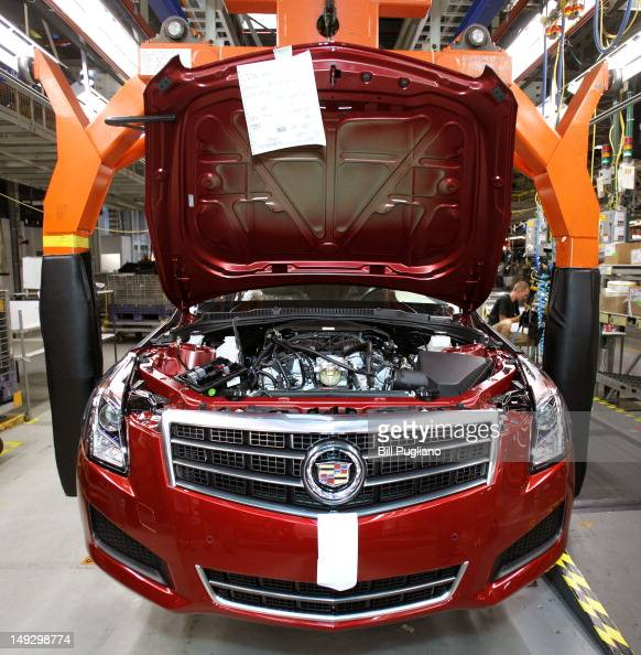 Cadillac Ats 2012: First 2013 Cadillac ATS Rolls Off Assembly Line In Lansing Photos And Images