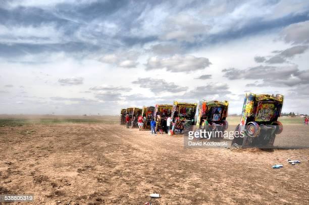 Cadillac Ranch Amarillo Texas roadside Art Route 66