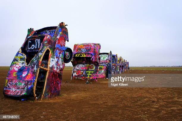 Cadillac Ranch Amarillo Texas USA