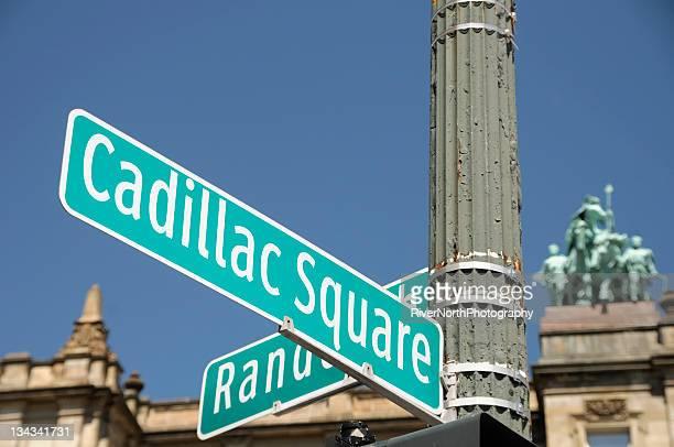 Cadillac Square, Detroit
