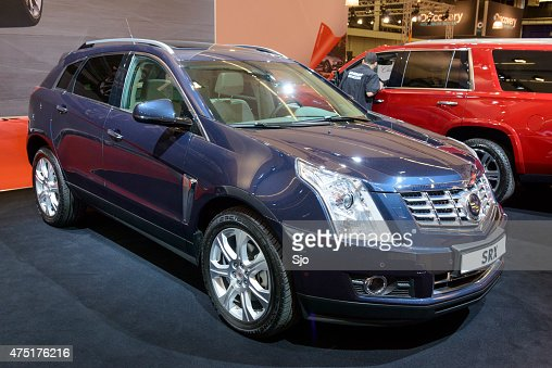 cadillac suvs stock photos and pictures getty images. Black Bedroom Furniture Sets. Home Design Ideas