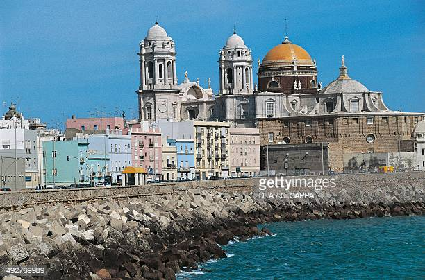 Cadiz Cathedral 18th century Baroque style Cadiz Andalusia Spain