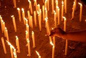 Cadle light vigil