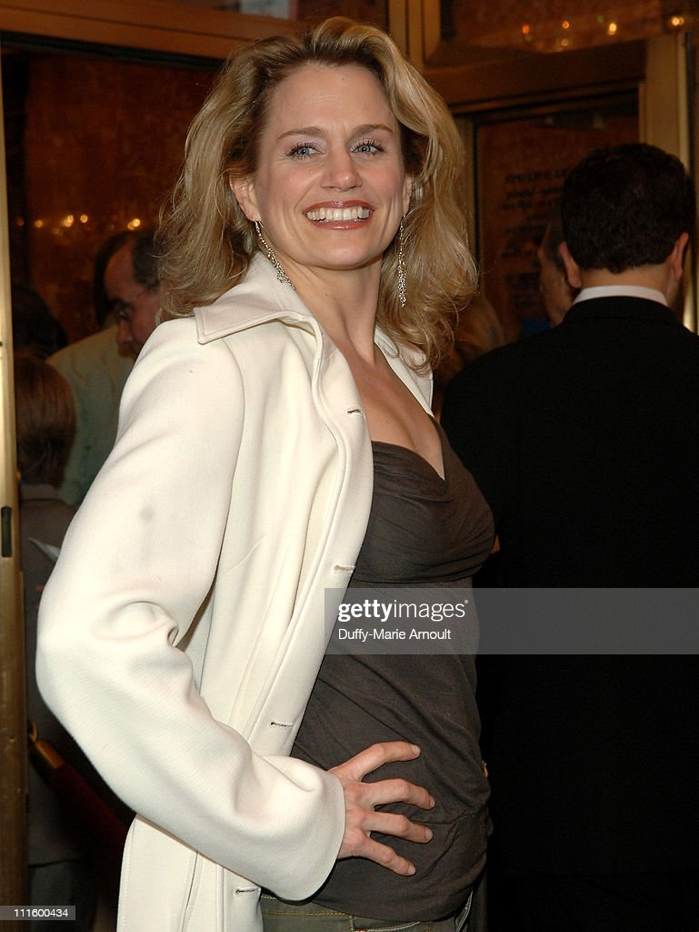 Cady Huffman during National Theatre's Coram Boy Opening - Arrivals and Curtain Call at Imperial Theatre in New York City, New York, United States.