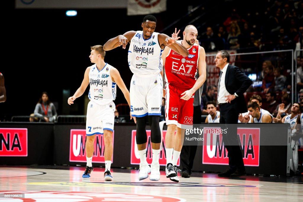 EA7 Milano v Happy Casa Brindisi - ITA Lega Basket A