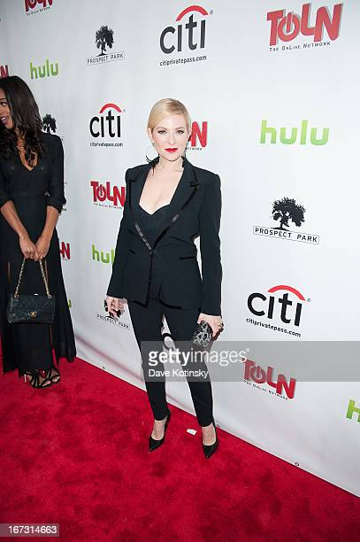 Cady McClain attends the 'All My Children' 'One Life To Live' premiere at Jack H Skirball Center for the Performing Arts on April 23 2013 in New York...