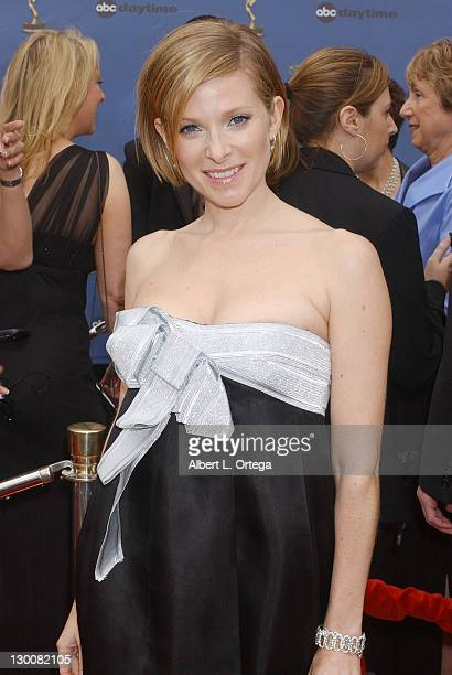 Cady McClain during 33rd Annual Daytime Emmy Awards Arrivals at Kodak Theatre in Hollywood CA United States
